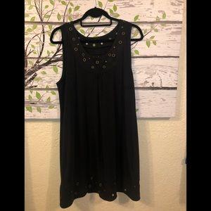 Ariat Sz Large Dark Navy Dress EUC!